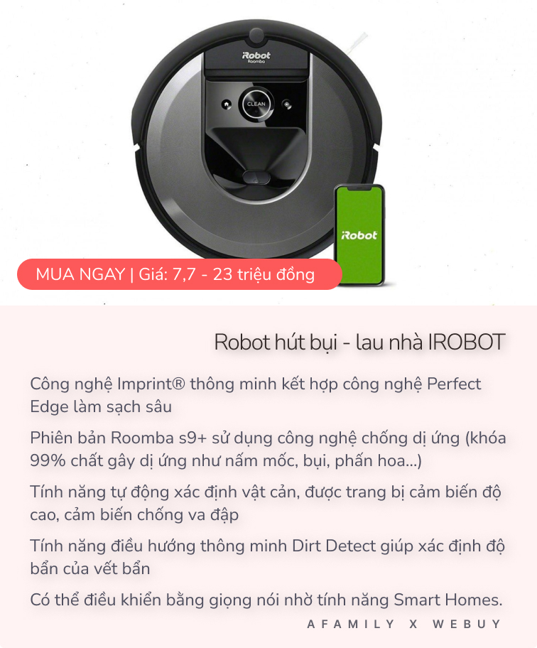 """Phát cáu vì robot lau nhà cứ gặp thảm là """"đứng hình"""", mẹ bỉm được dân mạng hiến kế kèm """"mách nước"""" robot phù hợp hơn - Ảnh 7."""