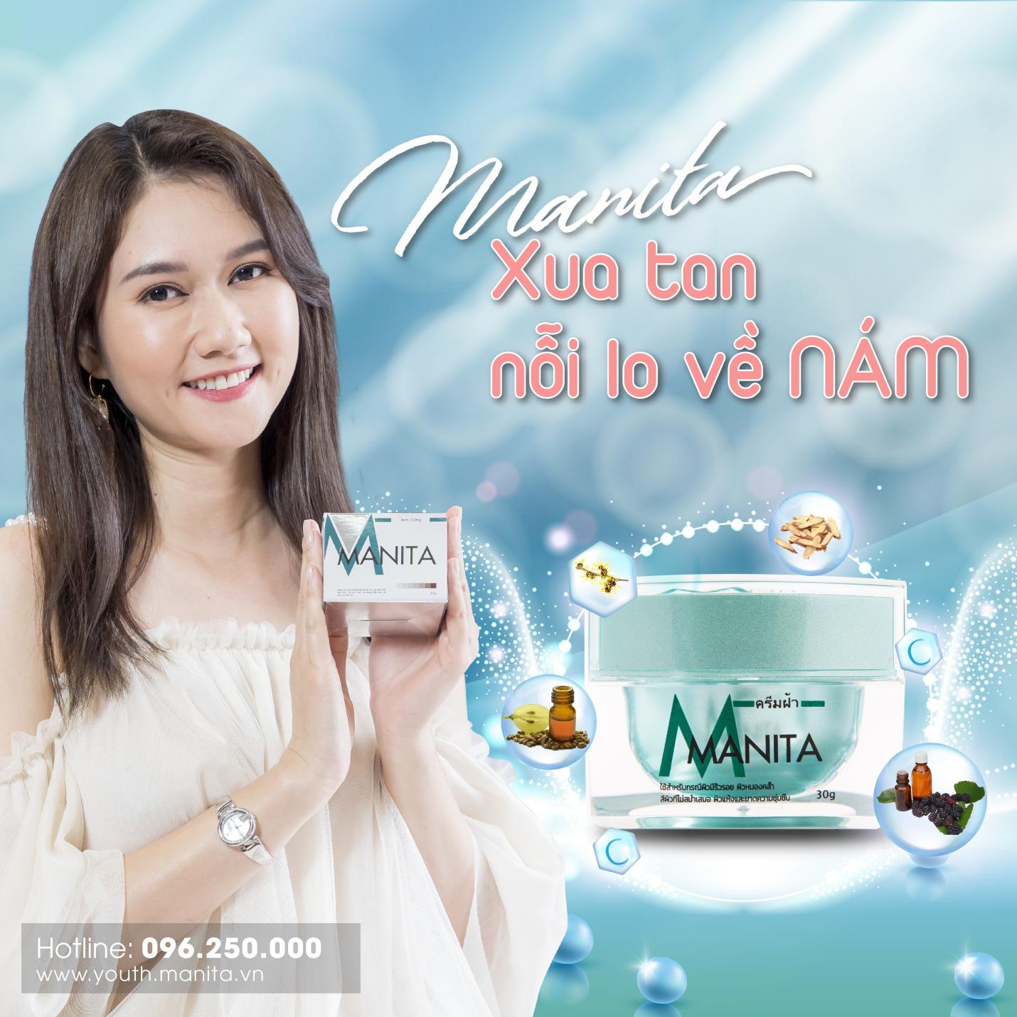 Kem dưỡng Manita hỗ trợ phụ nữ Việt đẩy lùi thâm nám - Ảnh 2.