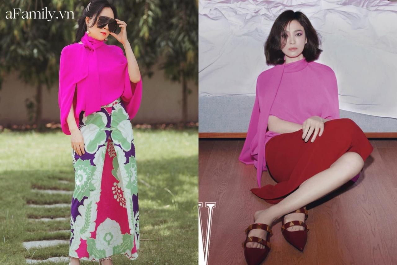 """Phượng Chanel """"đối đầu"""" Song Hye Kyo khi đụng hàng: Nữ doanh nhân đã lên đời style nhưng vẫn lép vế mỹ nhân Hàn - Ảnh 5."""