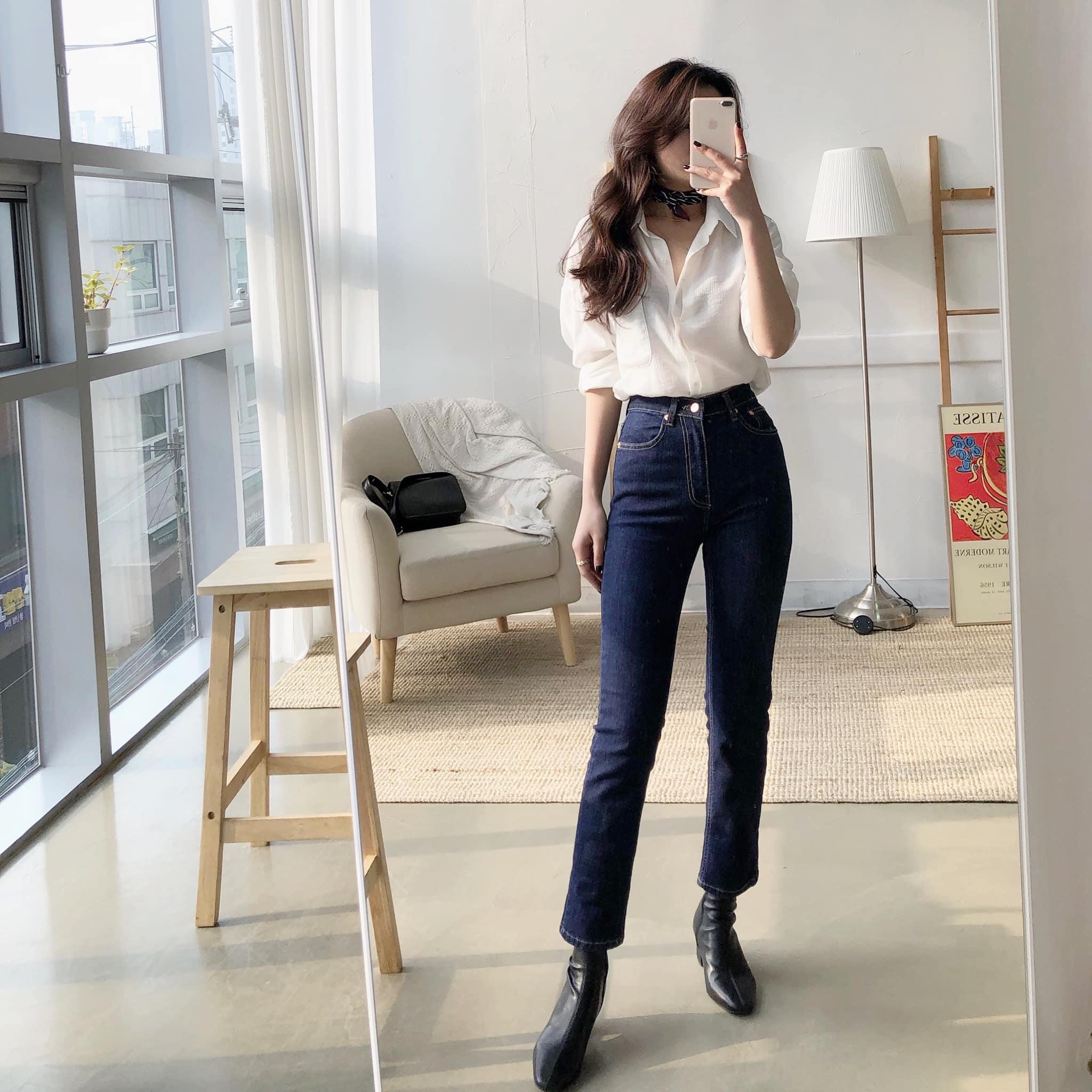 """Mê quần jeans đến mức cô nàng này có hẳn một review """"tường tận"""" về 3 kiểu tôn dáng nhất dành cho các chị em"""