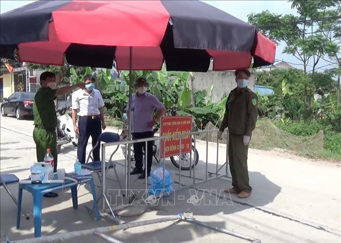 Thêm 2 trường hợp dương tính với SARS-CoV-2 ở huyện Khoái Châu, Hưng Yên