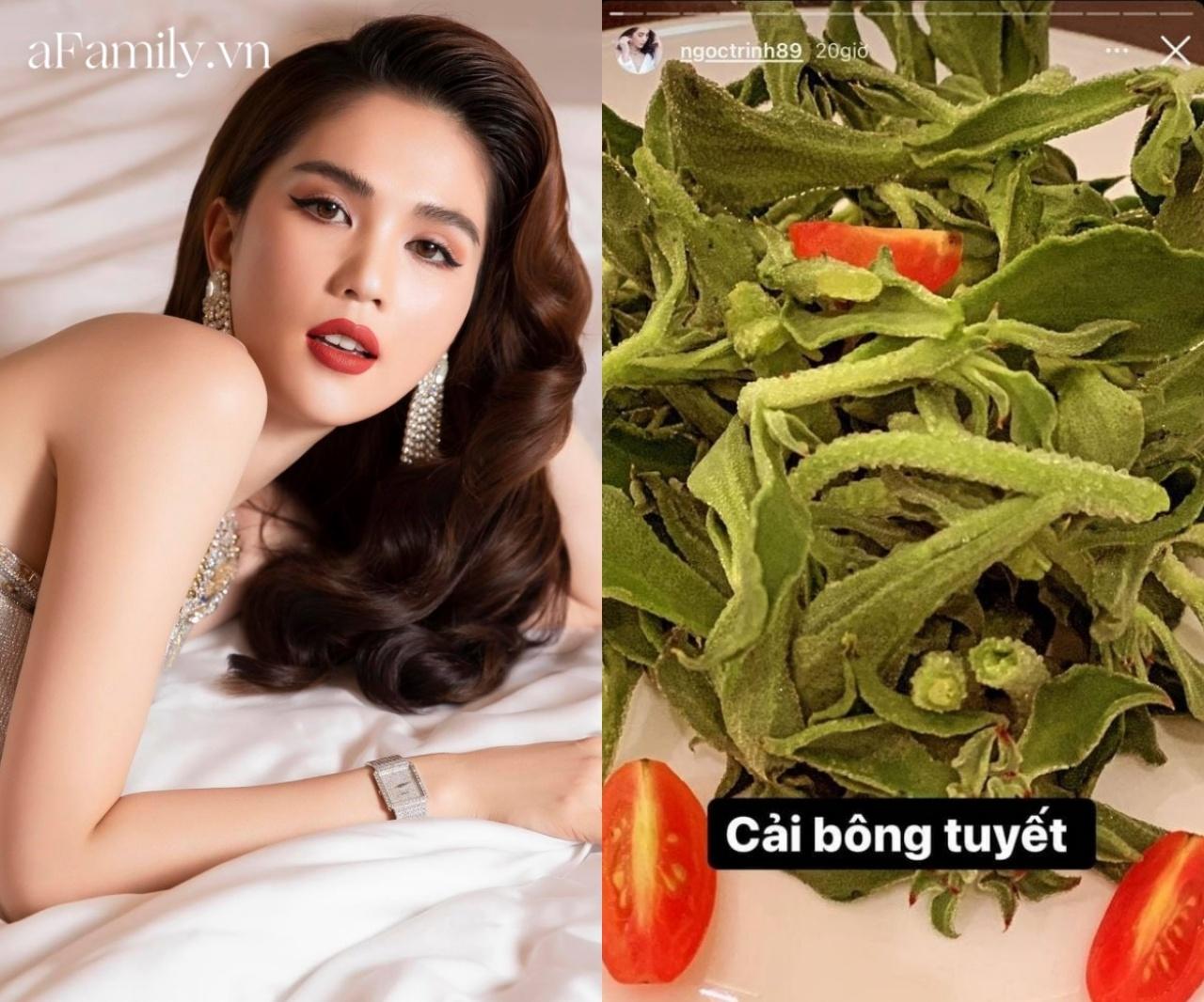 Loại rau đắt hơn thịt Ngọc Trinh vừa ăn: Đã ngon còn giảm cân giữ dáng cực tốt, bảo sao dân tình phát sốt - Ảnh 1.