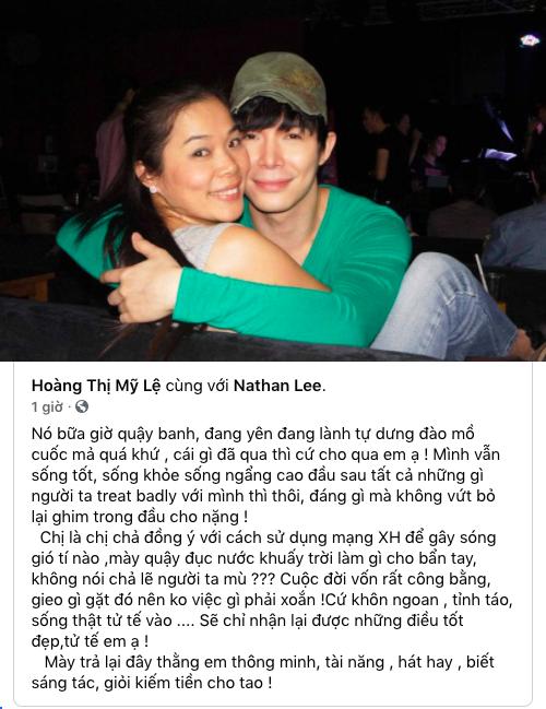 """Nathan Lee đòi kiện nếu Thu Minh hát bài """"Xinh"""", Mỹ Lệ lên tiếng động viên đàn em  - Ảnh 1."""