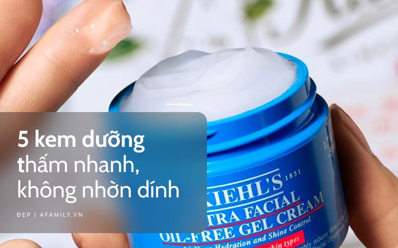 5 loại kem dưỡng thấm nhanh vượt trội, cho da ráo mịn căng mướt như sương - Ảnh 1.