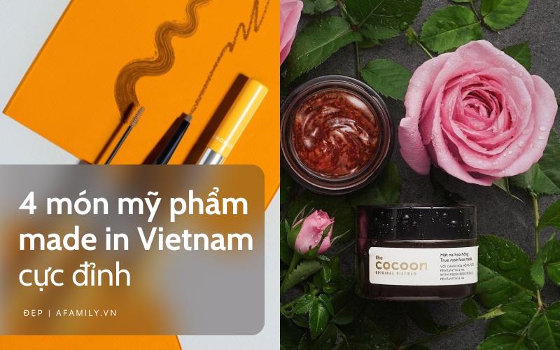 """4 món mỹ phẩm Việt tốt nhất, chỉ từ 38k mà chất lượng """"đỉnh của chóp"""" - Ảnh 1."""