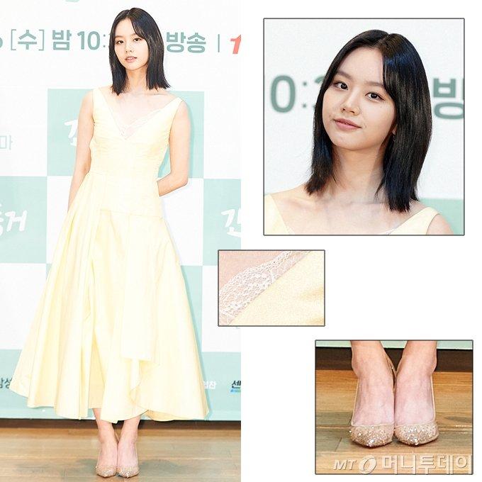 Mợ chảnh Jeon Ji Hyun - Hyeri đụng hàng: Bên lấp ló vòng 1, bên lại ngây thơ e ấp, style nào ăn điểm hơn? - Ảnh 3.