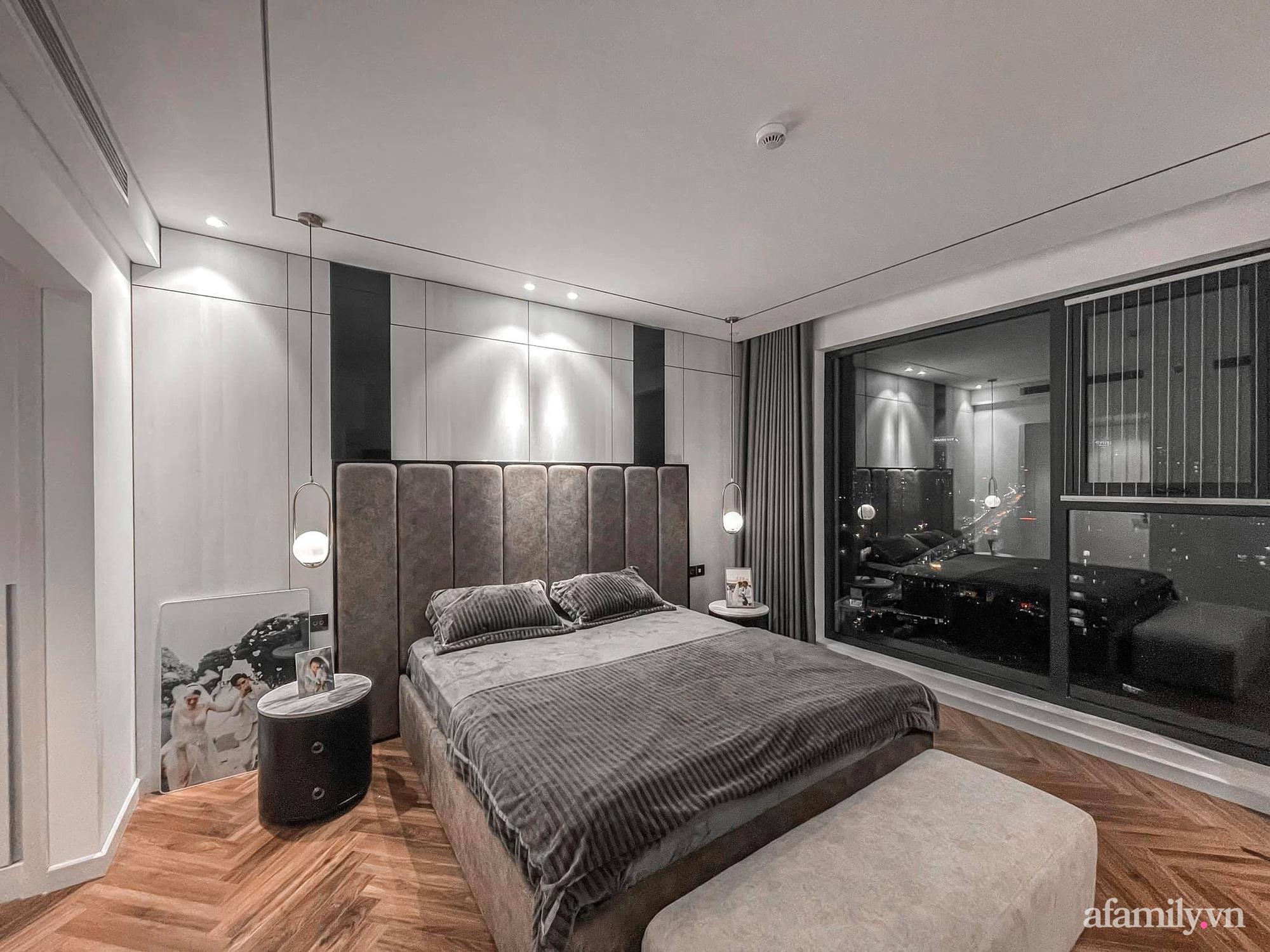 Căn hộ 125m² với gam màu tối cực chất của cặp vợ chồng yêu thời trang ở Hà Nội - Ảnh 20.