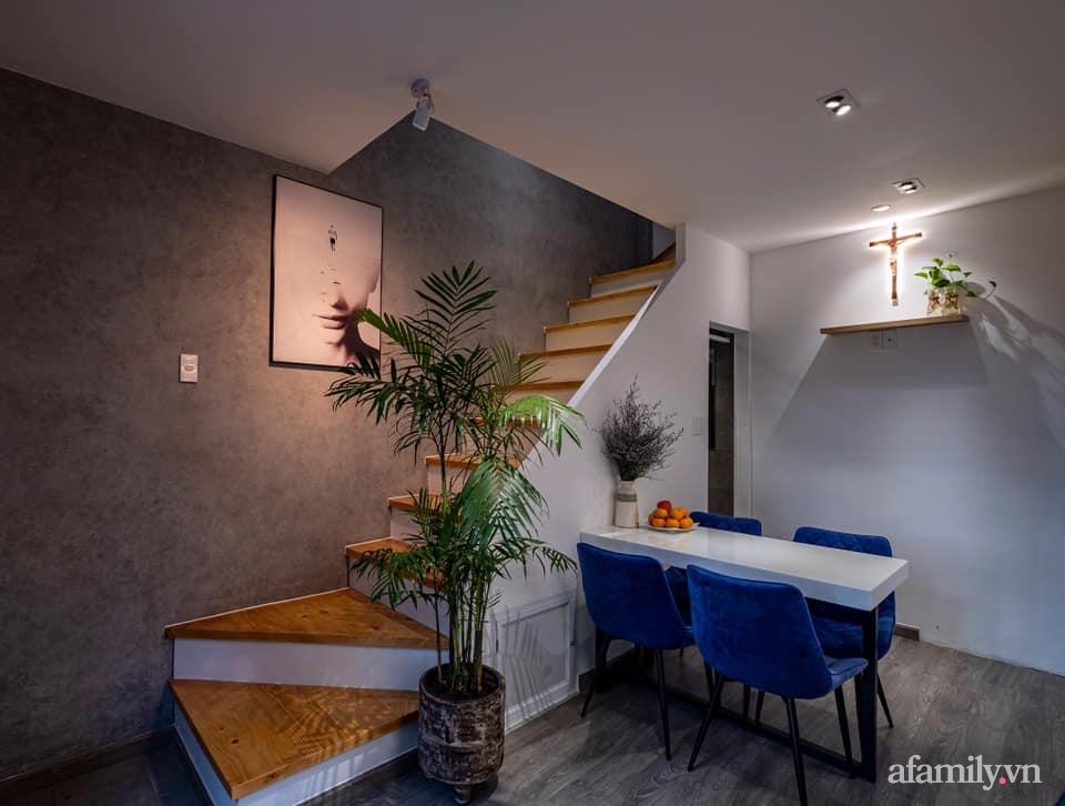 Khó tin: Căn nhà 17m2 đủ chức năng, đẹp cá tính dành cho vợ chồng trẻ ở Sài Gòn - Ảnh 4.