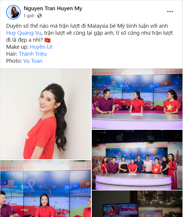 Sao Việt nô nức cổ vũ đội tuyển Việt Nam: Nhà ai cũng khoe cờ đỏ sao vàng rực rỡ, con gái Đông Nhi cực phấn khích - Ảnh 3.