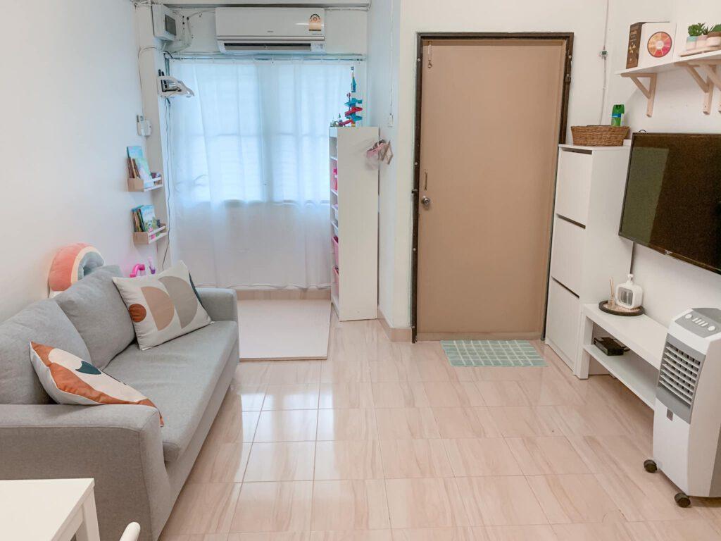Vợ chồng mới cưới thuê nhà cũ kỹ và cải tạo thành không gian tối giản đầy cuốn hút - Ảnh 8.