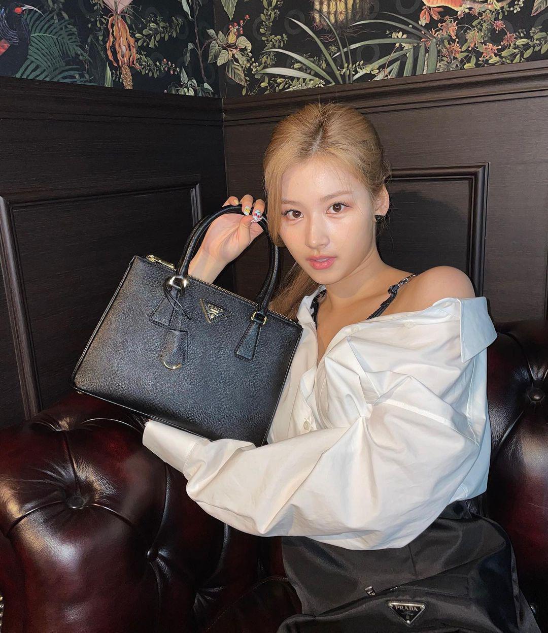 Visual nổi nhất Twice nhưng Sana vẫn bị chê nhạt nhòa khi diện túi hiệu, có đáng hay không? - Ảnh 1.