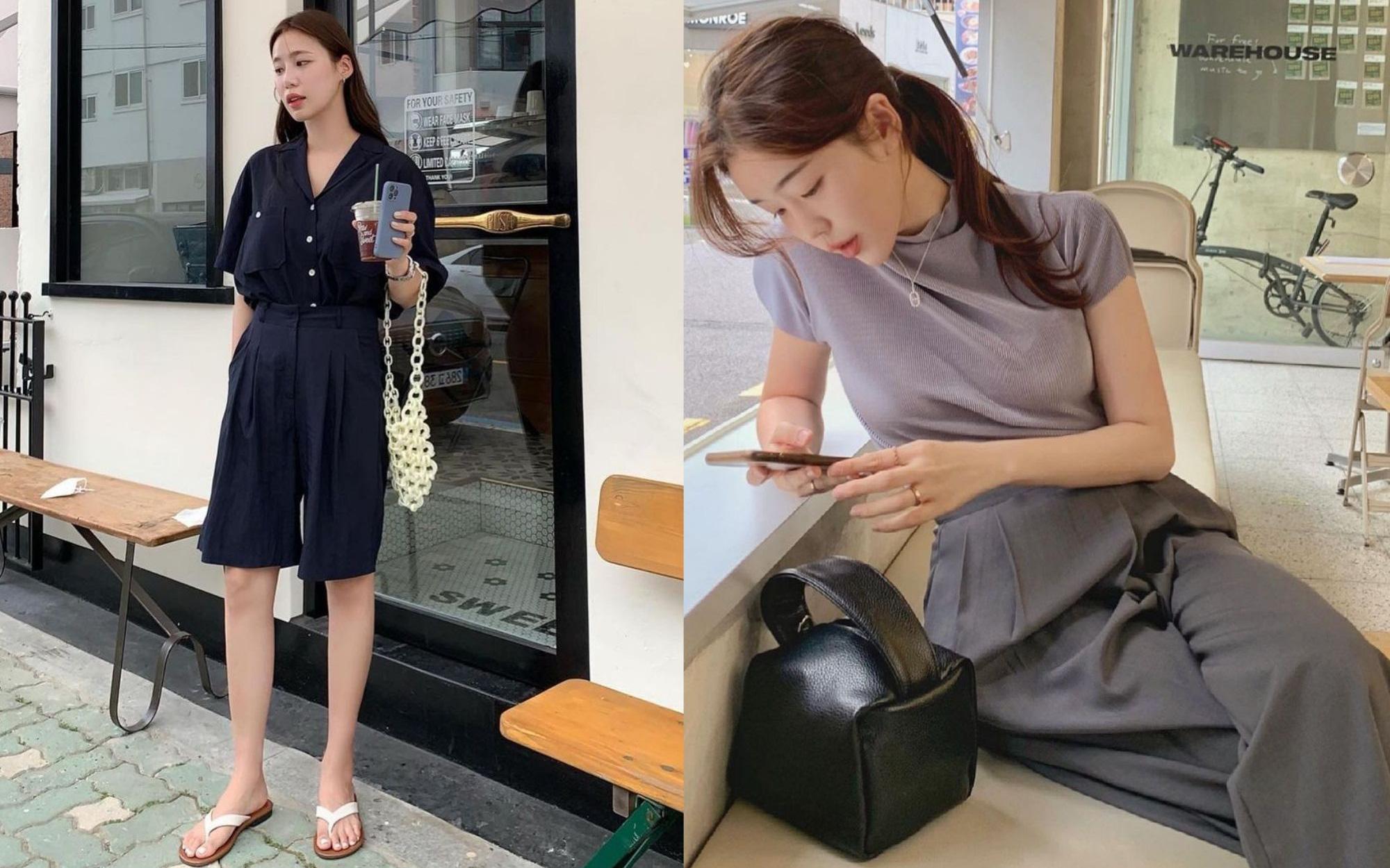 Chị em nên học gái Hàn mặc set đồng màu để sành điệu trong tích tắc