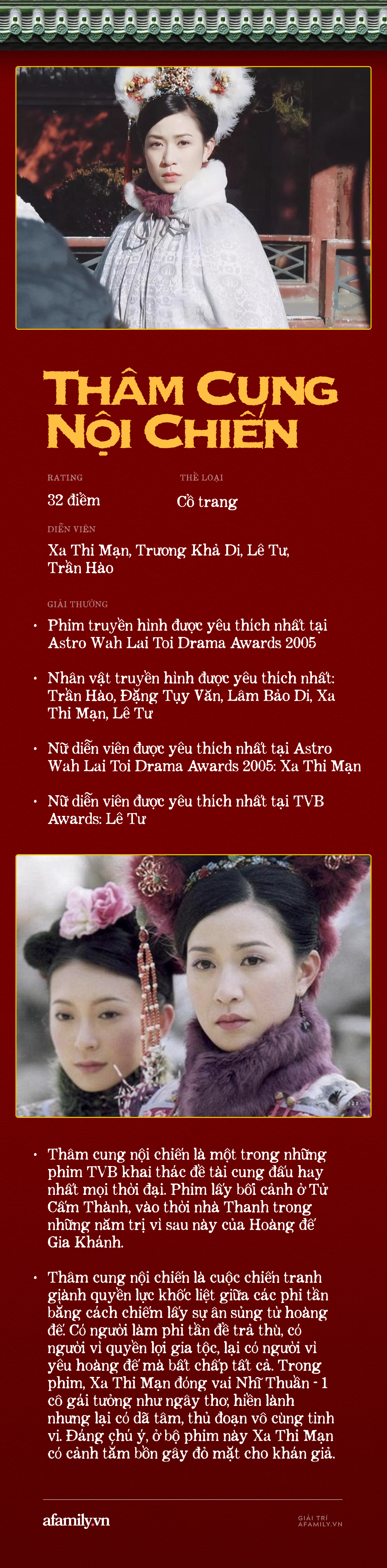 Xa Thi Mạn: Nữ hoàng cung đấu TVB, sốc nhất là màn khoe da thịt ở phim đạt rating kỷ lục, có cả phim đạt 13 tỷ lượt xem - Ảnh 1.