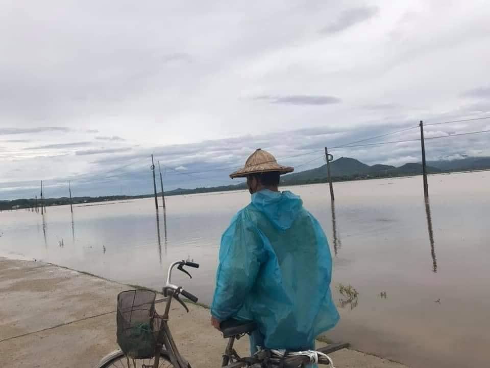 """Bão số 2 """"lướt qua"""" gây thiệt hại tại nhiều địa phương, vùng dịch Hà Tĩnh ngập lụt nghiêm trọng - Ảnh 6."""