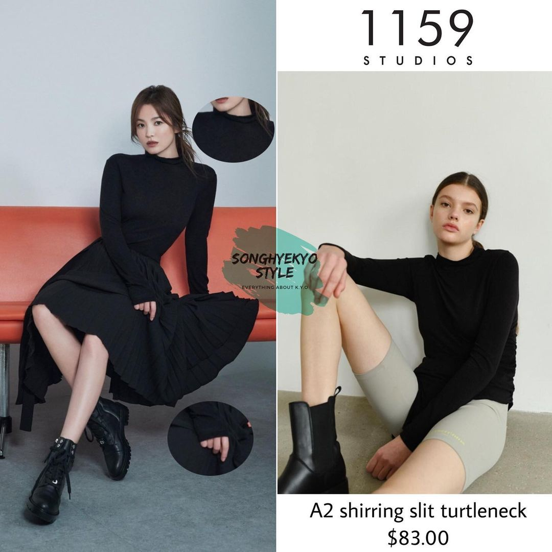 """Song Hye Kyo khiến antifan cũng phải """"choáng váng"""" khi bao lần ăn diện sang xịn """"ăn đứt"""" mẫu hãng - Ảnh 9."""