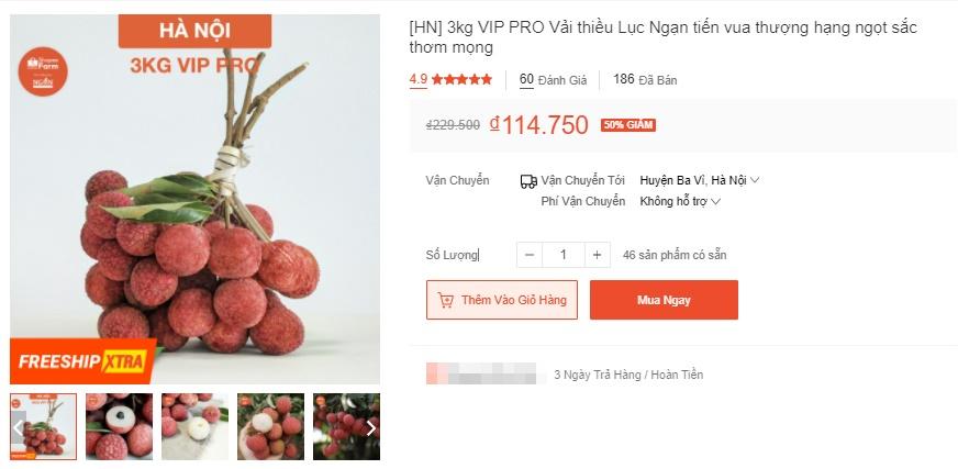 Deal hot mua vải thiều Bắc Giang: Giảm tới 50% mà quả nào quả nấy đẹp ngon 10/10 - Ảnh 1.