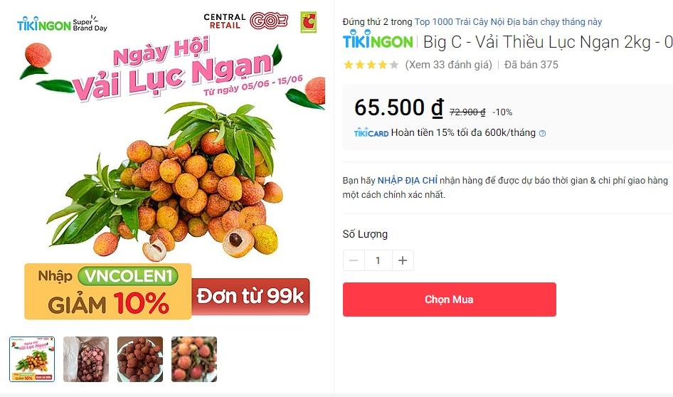 Deal hot mua vải thiều Bắc Giang: Giảm tới 50% mà quả nào quả nấy đẹp ngon 10/10 - Ảnh 5.
