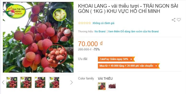 Deal hot mua vải thiều Bắc Giang: Giảm tới 50% mà quả nào quả nấy đẹp ngon 10/10 - Ảnh 2.