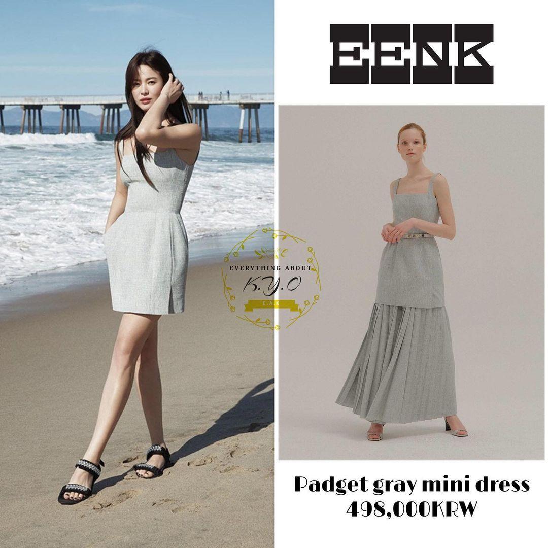 """Song Hye Kyo khiến antifan cũng phải """"choáng váng"""" khi bao lần ăn diện sang xịn """"ăn đứt"""" mẫu hãng - Ảnh 5."""