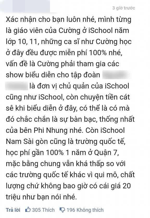 Xuất hiện thông tin giáo viên xác nhận Hồ Văn Cường được miễn phí 100% học phí - Ảnh 2.