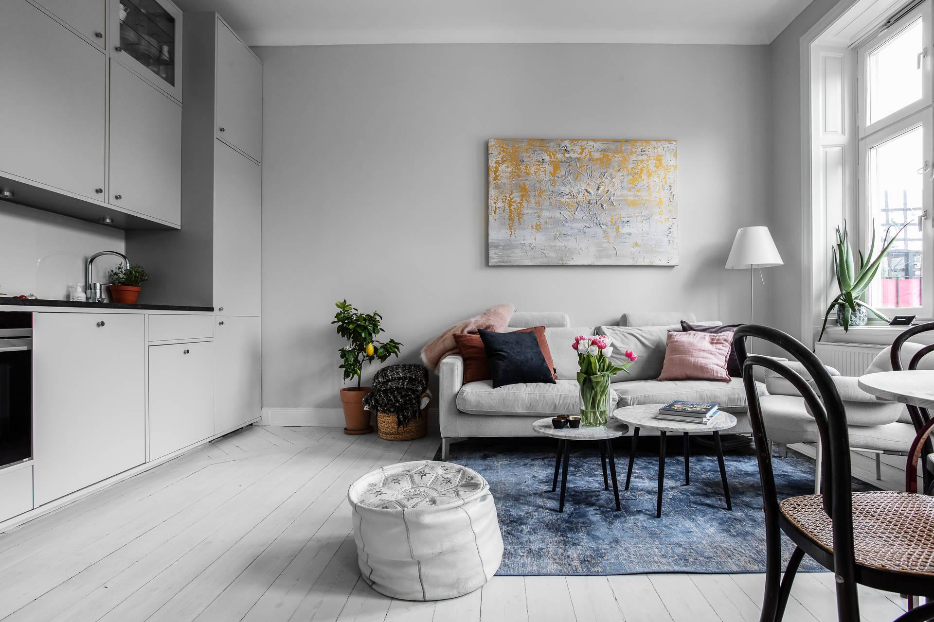 Căn hộ 39m² đẹp ngọt ngào trẻ trung với điểm nhấn từ màu pastel - Ảnh 4.
