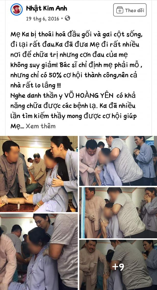 """Thêm một nữ diễn viên nổi tiếng bị """"đào mộ"""" hình ảnh đưa mẹ đi chữa bệnh ở chỗ Võ Hoàng Yên - Ảnh 2."""