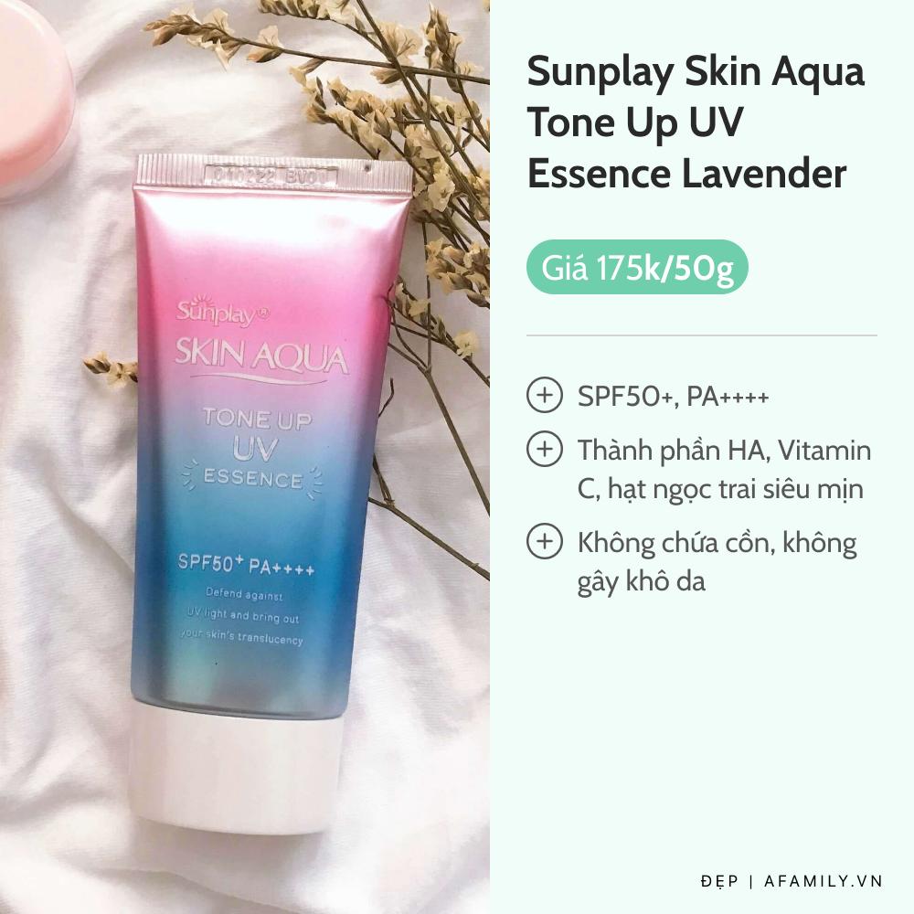 6 kem chống nắng nâng tông da sáng hồng tự nhiên không cần makeup - Ảnh 2.