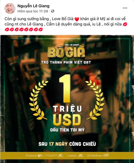 Mẹ con Lê Giang - Lê Lộc đăng gì lên Facebook giữa lúc Duy Phương thắng kiện 400 triệu vì bị vu khống - Ảnh 2.