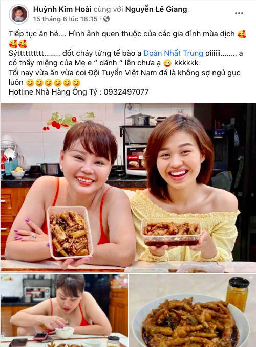 Mẹ con Lê Giang - Lê Lộc đăng gì lên Facebook giữa lúc Duy Phương thắng kiện 400 triệu vì bị vu khống - Ảnh 3.