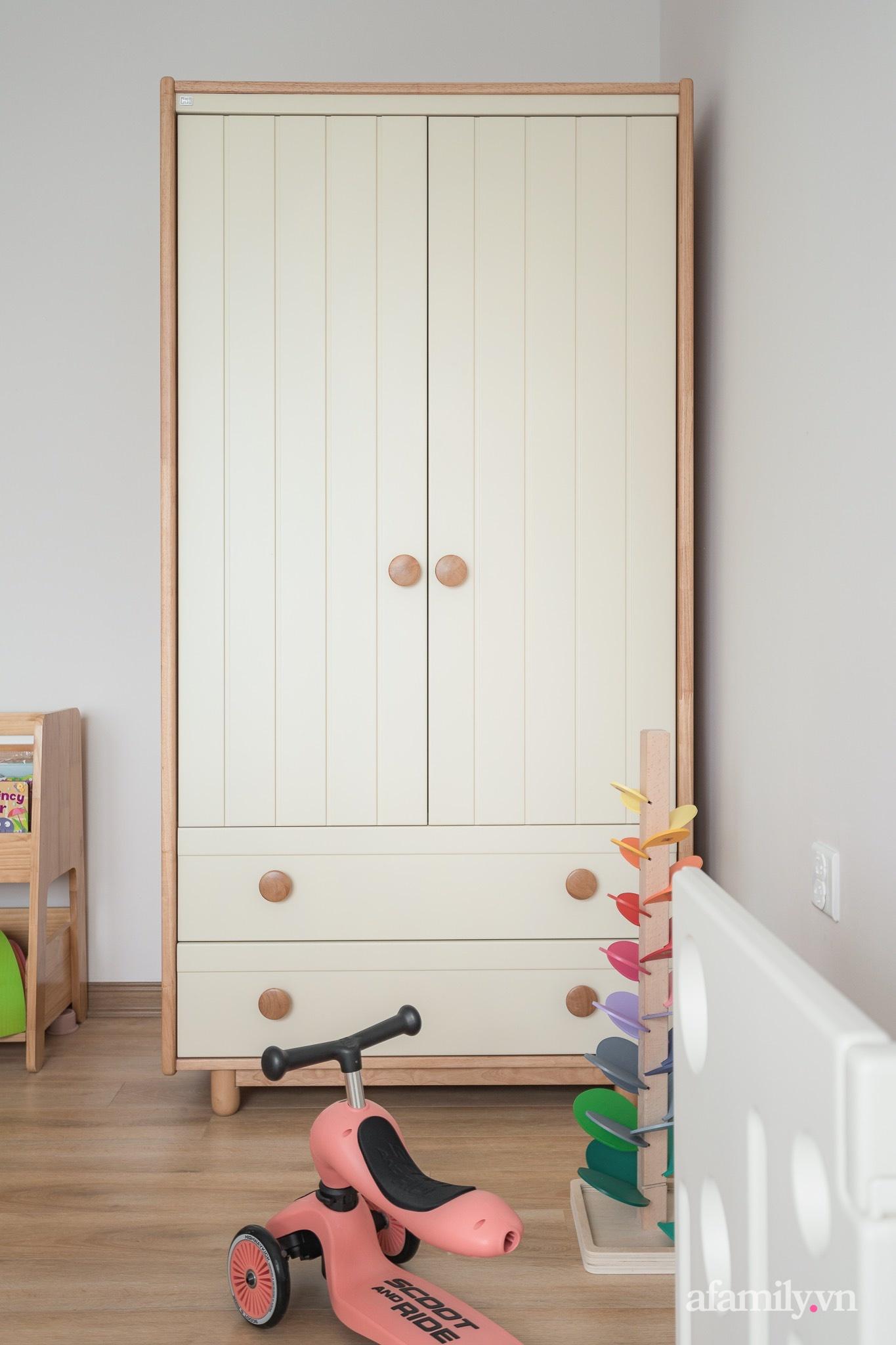 Căn hộ 92,5m² ngọt lịm với sắc màu tinh khôi của nữ giáo viên Tiếng Anh ở Hà Nội - Ảnh 19.