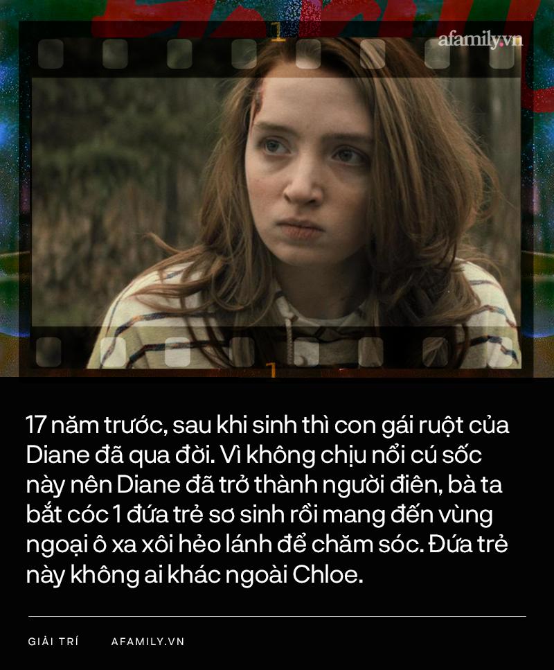 """""""Trốn chạy"""" - phim kinh dị 18+ khiến ai cũng sốc: Mẹ đầu độc, biến con gái thành tật nguyền để thay thế đứa trẻ đã chết - Ảnh 5."""