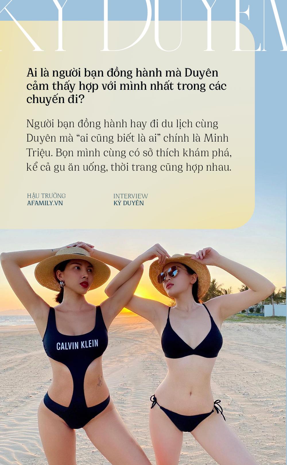 Kỳ Duyên: Nàng hậu cá tính với sở thích du lịch khám phá, bật mí lý do luôn gắn bó với Minh Triệu như hình với bóng - Ảnh 4.