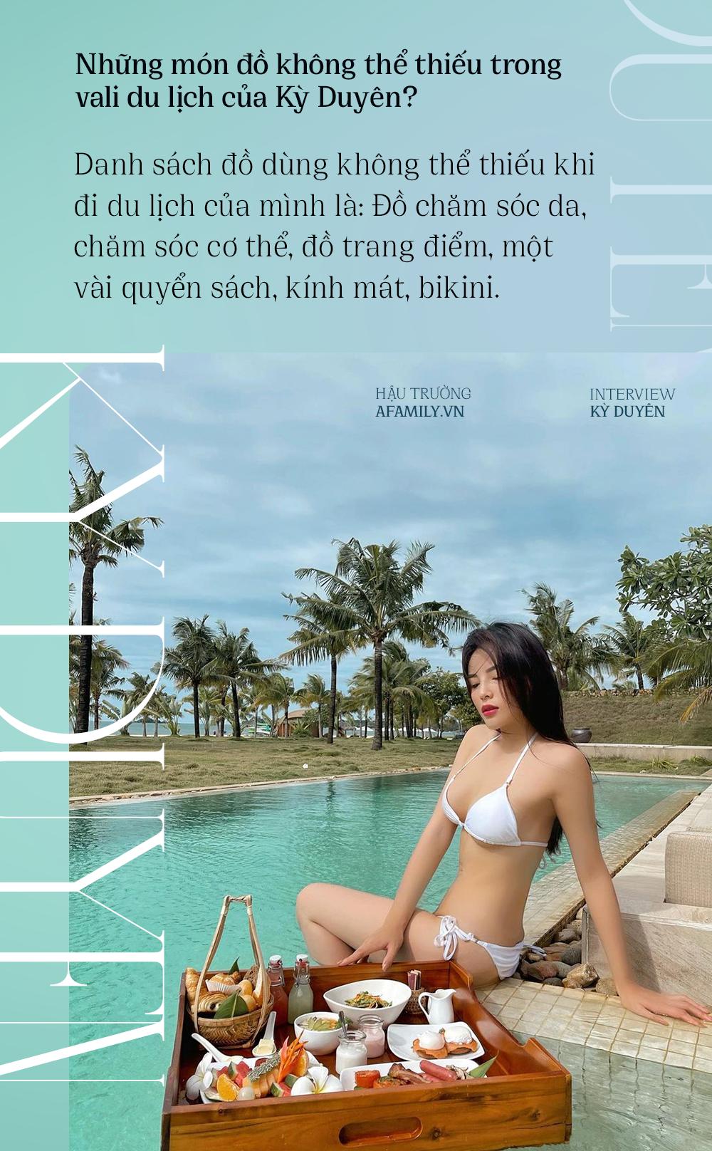 Kỳ Duyên: Nàng hậu cá tính với sở thích du lịch khám phá, bật mí lý do luôn gắn bó với Minh Triệu như hình với bóng - Ảnh 3.