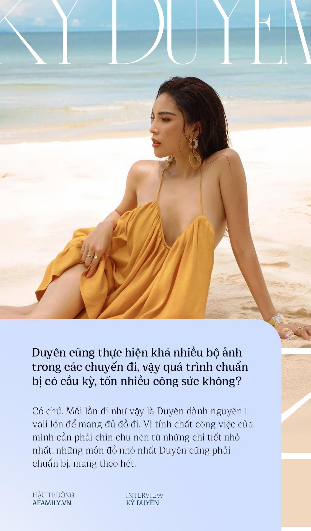 Kỳ Duyên: Nàng hậu cá tính với sở thích du lịch khám phá, bật mí lý do luôn gắn bó với Minh Triệu như hình với bóng - Ảnh 5.