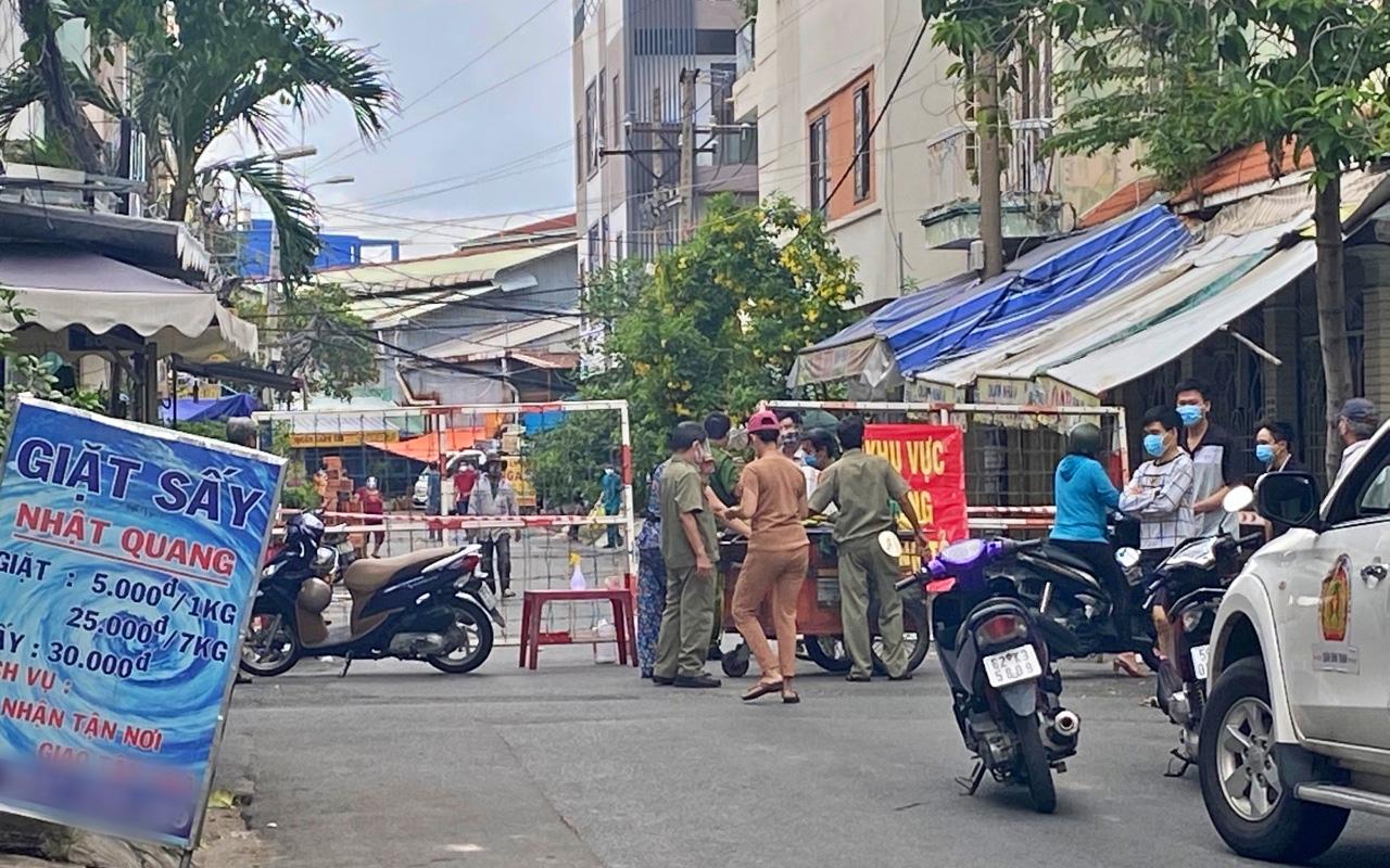 TP.HCM: Phong tỏa một khu vực trong cư xá Chu Văn An sau khi phát hiện người dương tính SARS-CoV-2 tại bệnh viện