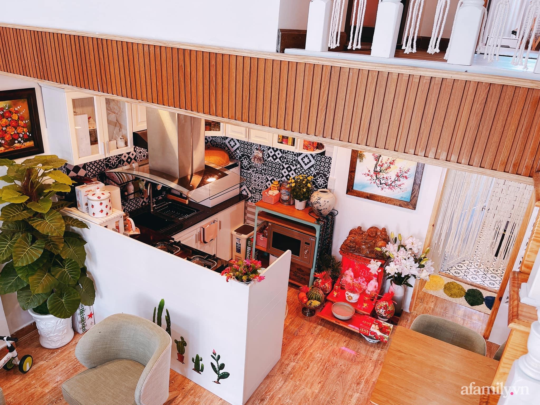 Mua lại căn nhà 63m², cặp vợ chồng trẻ cải tạo thành không gian sống ấm cúng, tiện nghi đủ đường ở Đà Lạt - Ảnh 2.