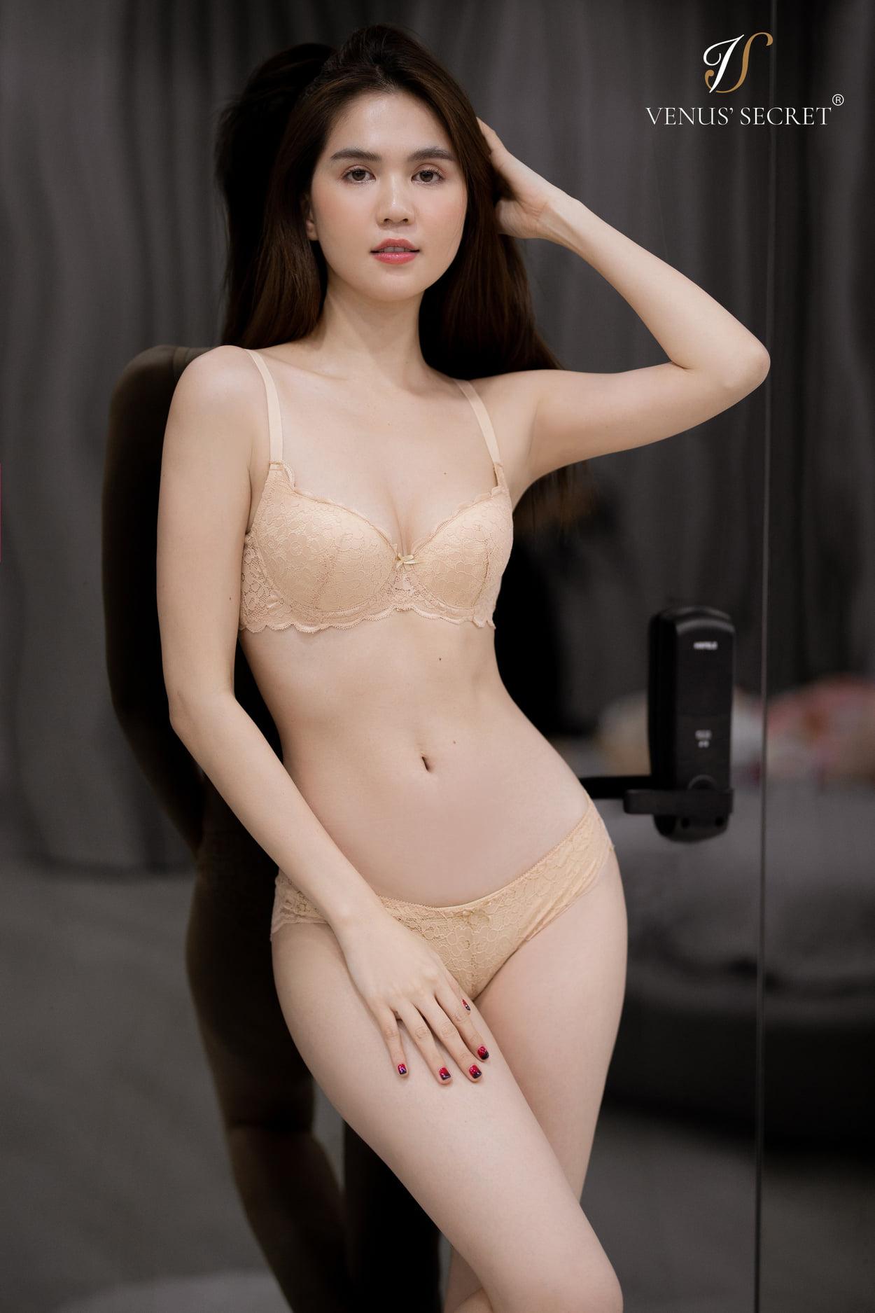 """Ngọc Trinh trình làng BST nội y bị tố đạo nhái Victoria's Secret: Thiết kế và """"giá rổ"""" thế nào? - Ảnh 6."""