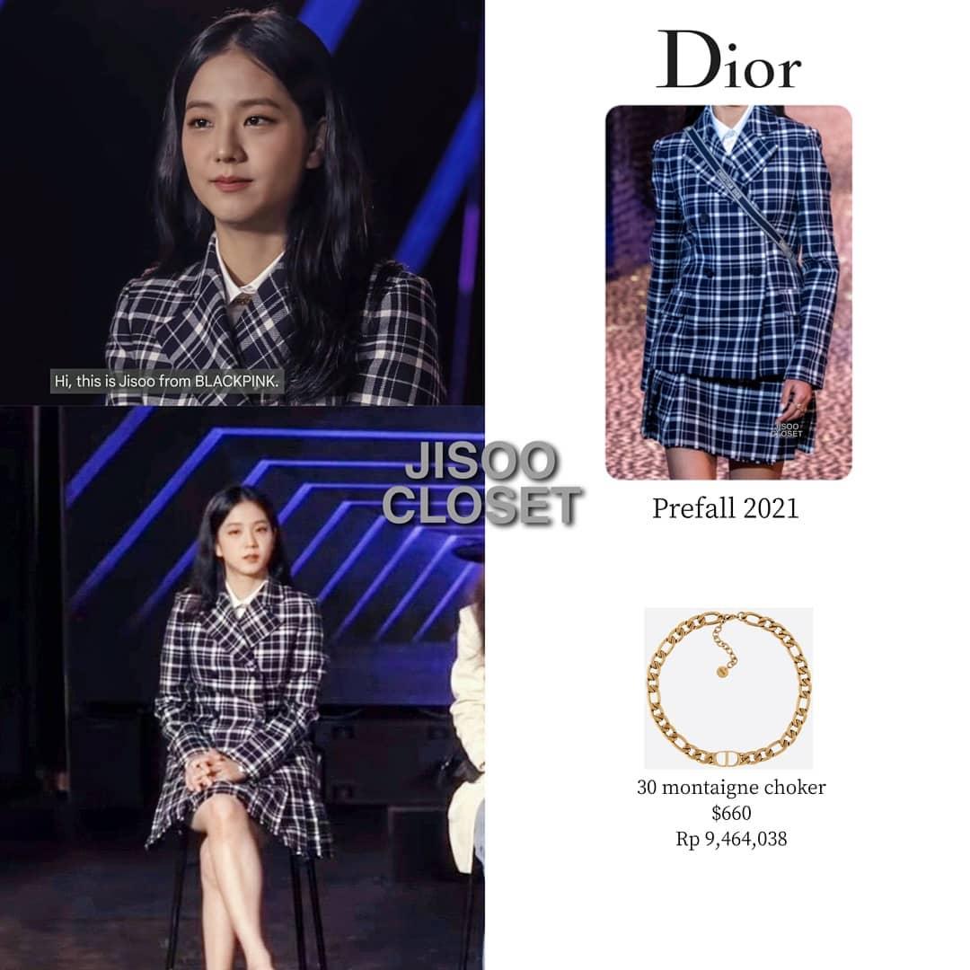 """Jisoo khi diện đồ Dior được lấy cảm hứng từ chính mình: Có """"phèn"""" hơn hay sẽ lấn át mẫu hãng? - Ảnh 1."""