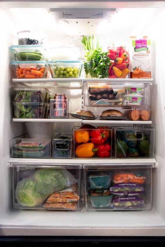 """""""Mát con mắt"""" với chiếc tủ lạnh xanh của cô nàng Eat Clean: Bí quyết giữ rau tươi ngon suốt 2 tuần không phải ai cũng nằm lòng! - Ảnh 3."""