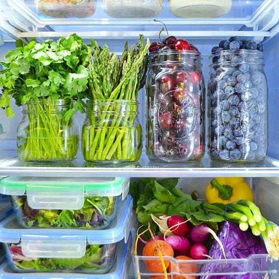 """""""Mát con mắt"""" với chiếc tủ lạnh xanh của cô nàng Eat Clean: Bí quyết giữ rau tươi ngon suốt 2 tuần không phải ai cũng nằm lòng! - Ảnh 4."""