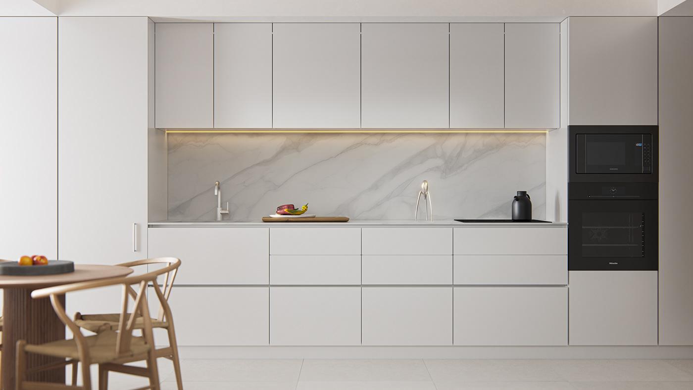 Kiến trúc sư tư vấn thiết kế căn hộ  50m² cho 3 người, chi phí tiết kiệm chỉ 114 triệu đồng - Ảnh 6.
