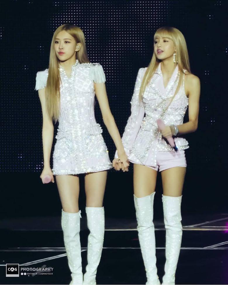 Không phải Jisoo hay Jennie, hóa ra Lisa và Rosé mới sở hữu đôi chân xuất sắc, diện quần short đẹp nhất BLACKPINK - Ảnh 5.