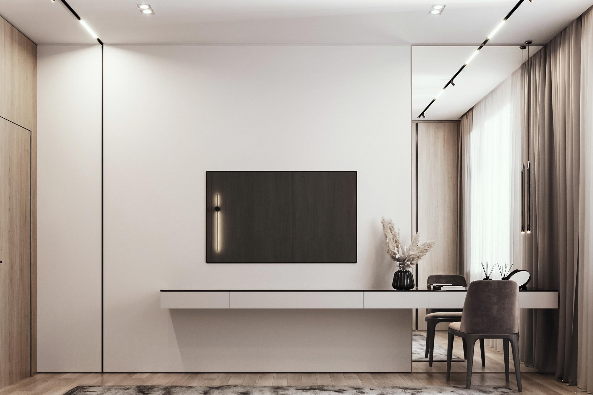 Kiến trúc sư tư vấn thiết kế căn hộ  50m² cho 3 người, chi phí tiết kiệm chỉ 114 triệu đồng - Ảnh 9.