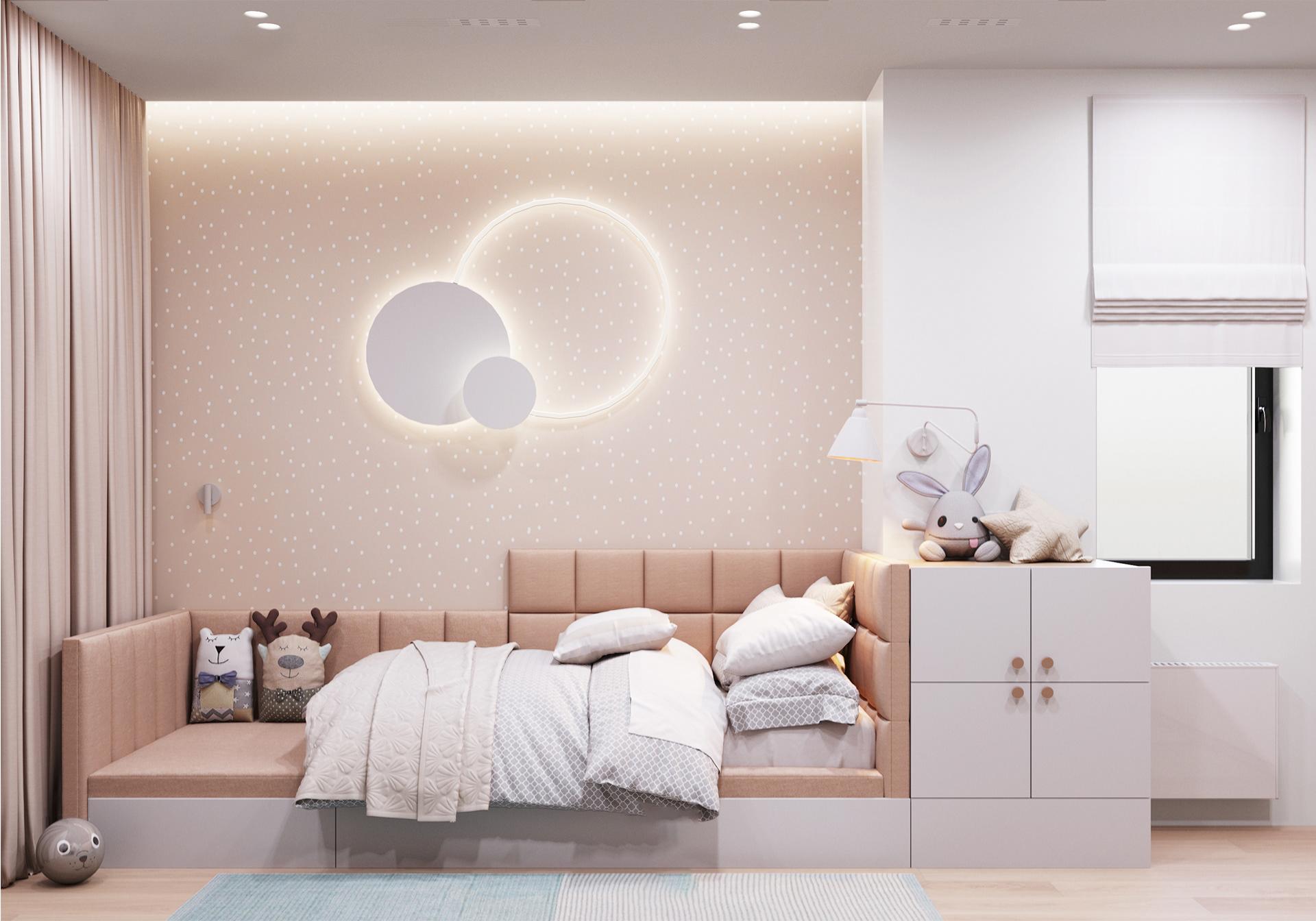 Kiến trúc sư tư vấn thiết kế căn hộ  50m² cho 3 người, chi phí tiết kiệm chỉ 114 triệu đồng - Ảnh 10.