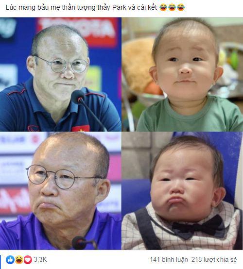Thêm một phiên bản nhí của thầy Park Hang Seo gây sốt MXH, dân tình thả tim tới tấp: Khi bầu mẹ mê bóng đá quá đây mà? - Ảnh 8.