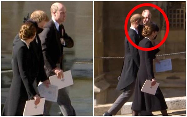 Hé lộ sự thật chua chát sau khoảnh khắc Harry cùng vợ chồng Công nương Kate trò chuyện ở tang lễ Hoàng tế Philip