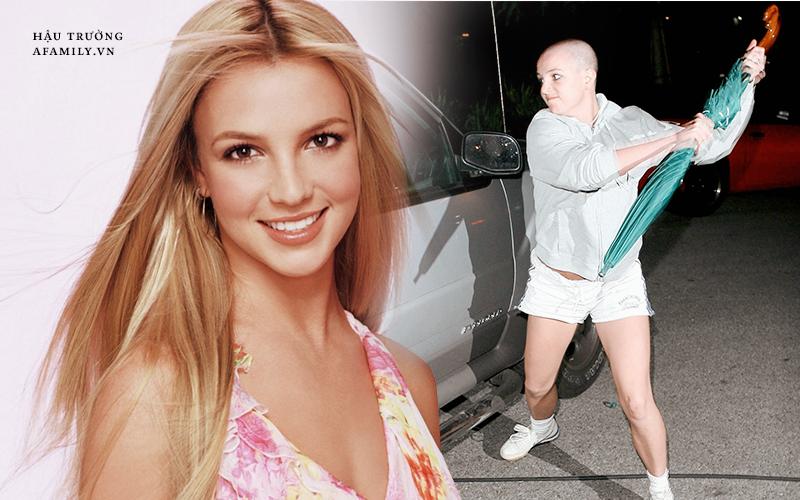 """Nhìn lại cột mốc 2007 đen tối cùng cực trong cuộc đời  """"công chúa nhạc Pop"""" Britney Spears"""