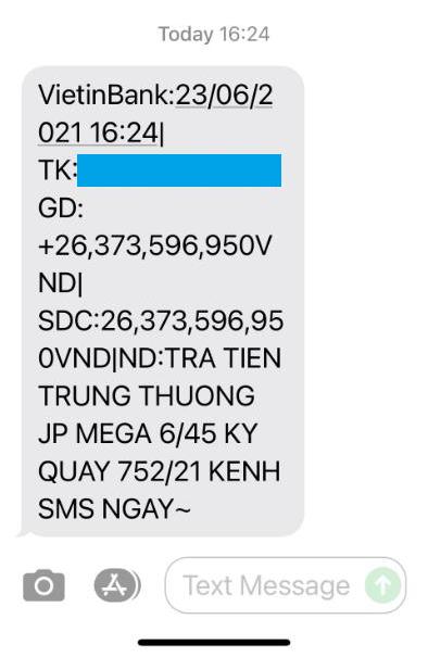 Mua Vietlott qua tin nhắn, người đàn ông vừa trúng Jackpot có giá trị lớn nhất đầu tiên qua kênh SMS vừa trúng thêm 2 giải thưởng khác - Ảnh 2.