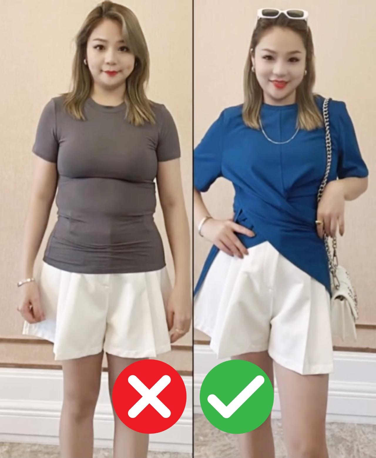 Nàng béo bụng cần tránh xa 4 kiểu váy áo này nếu không muốn vừa lộ vòng 2 xồ xề lại vừa kém sang - Ảnh 4.