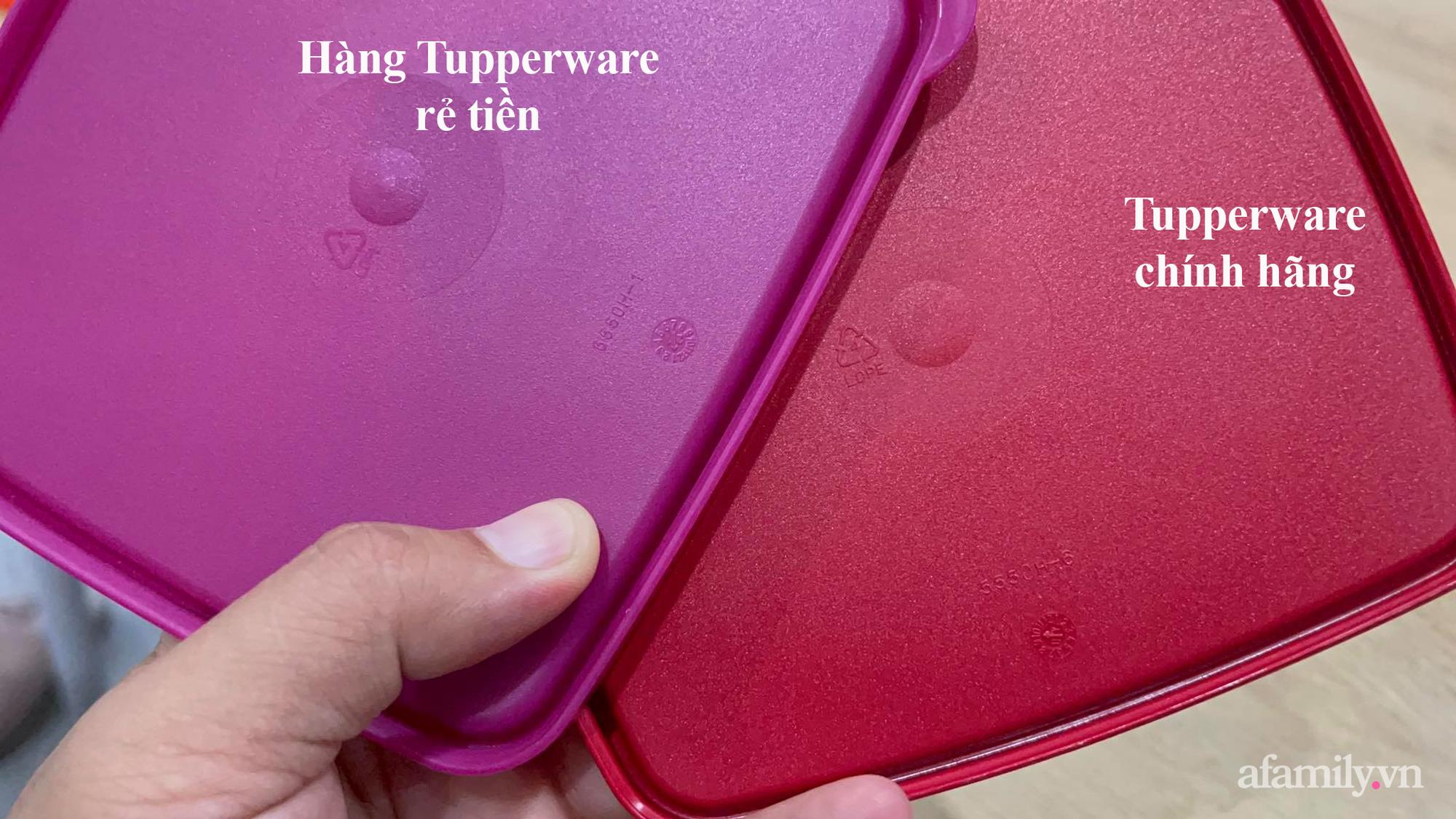 """Chủ đại lý Tupperware chỉ cách phân biệt thật giả giữa hàng ngàn sản phẩm """"sale tụt nóc"""" giá chỉ bằng 1/4 chính hãng - Ảnh 7."""